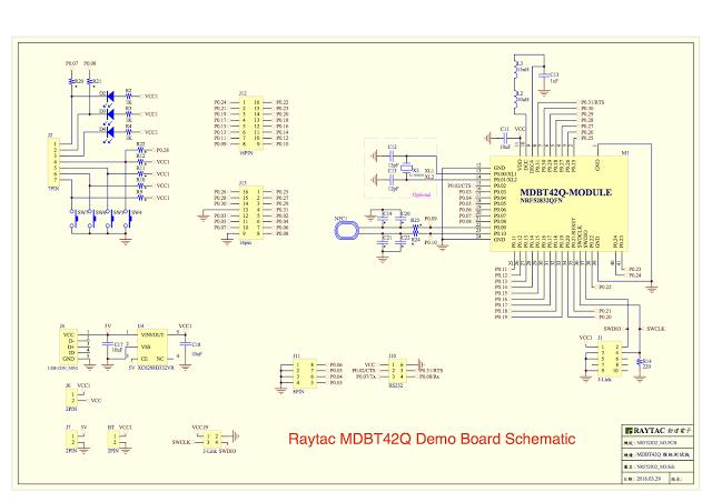 schematic-mdbt42q-demo-board