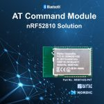 【予告】Nordic nRF52810 AT-command BLEモジュール