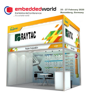 RaytacがEmbedded World 2020に出展します!