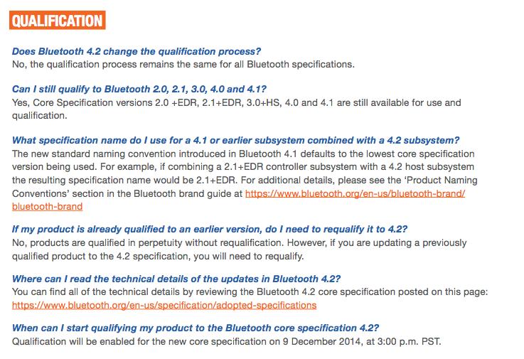 BT4.2 SIG material3