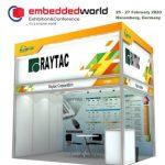 RaytacがEmbedded World 2020に出展します!